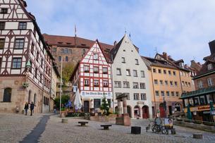 ドイツ ニュルンベルク旧市街の素材 [FYI00065042]