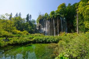 クロアチア 世界自然遺産 プリトヴィツェ湖群国立公園の写真素材 [FYI00065093]