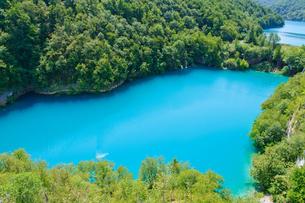 クロアチア 世界自然遺産 プリトヴィツェ湖群国立公園の写真素材 [FYI00065095]
