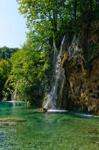 クロアチア 世界自然遺産 プリトヴィツェ湖群国立公園の写真素材 [FYI00065099]
