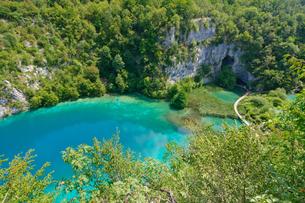 クロアチア 世界自然遺産 プリトヴィツェ湖群国立公園の写真素材 [FYI00065100]