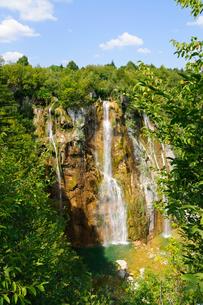 クロアチア 世界自然遺産 プリトヴィツェ湖群国立公園の写真素材 [FYI00065105]