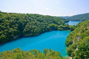 クロアチア 世界自然遺産 プリトヴィツェ湖群国立公園の写真素材 [FYI00065109]