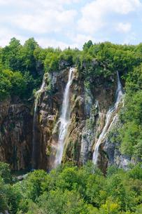 クロアチア 世界自然遺産 プリトヴィツェ湖群国立公園の写真素材 [FYI00065112]