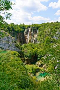 クロアチア 世界自然遺産 プリトヴィツェ湖群国立公園の写真素材 [FYI00065113]