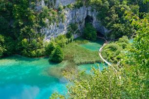 クロアチア 世界自然遺産 プリトヴィツェ湖群国立公園の写真素材 [FYI00065114]