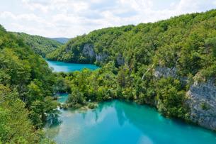 クロアチア 世界自然遺産 プリトヴィツェ湖群国立公園の写真素材 [FYI00065117]