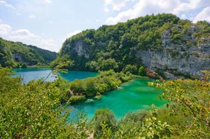 クロアチア 世界自然遺産 プリトヴィツェ湖群国立公園の写真素材 [FYI00065122]