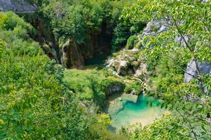 クロアチア 世界自然遺産 プリトヴィツェ湖群国立公園の写真素材 [FYI00065124]