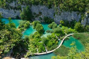 クロアチア 世界自然遺産 プリトヴィツェ湖群国立公園の写真素材 [FYI00065125]