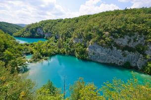 クロアチア 世界自然遺産 プリトヴィツェ湖群国立公園の写真素材 [FYI00065126]