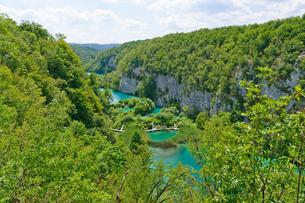 クロアチア 世界自然遺産 プリトヴィツェ湖群国立公園の写真素材 [FYI00065134]