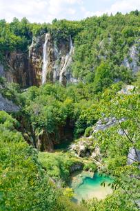 クロアチア 世界自然遺産 プリトヴィツェ湖群国立公園の写真素材 [FYI00065137]