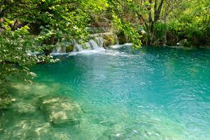 クロアチア 世界自然遺産 プリトヴィツェ湖群国立公園の写真素材 [FYI00065143]