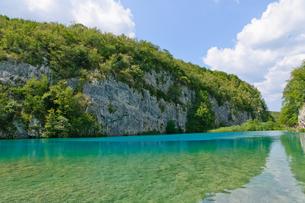 クロアチア 世界自然遺産 プリトヴィツェ湖群国立公園の写真素材 [FYI00065152]