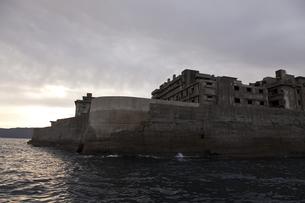 軍艦島の写真素材 [FYI00065195]