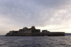 軍艦島の写真素材 [FYI00065200]