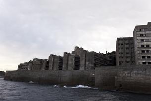 軍艦島の写真素材 [FYI00065213]