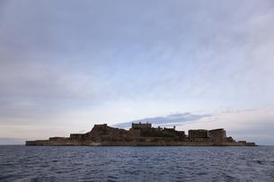 軍艦島の写真素材 [FYI00065225]