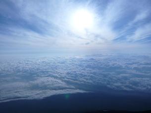 雲海の写真素材 [FYI00065534]