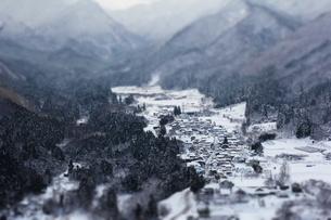 山形の冬の写真素材 [FYI00065581]