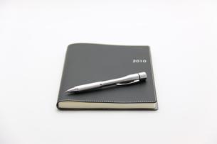 手帳とボールペンの素材 [FYI00065694]