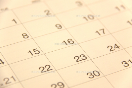 カレンダーの素材 [FYI00065898]