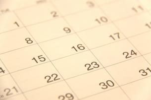 カレンダーの写真素材 [FYI00065898]
