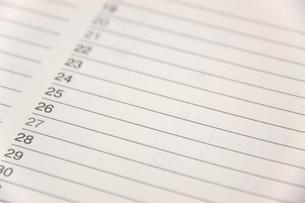 カレンダーの素材 [FYI00065920]