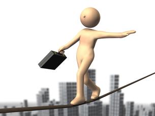 ハイリスクなビジネスを表すアブストラクト3DCGの写真素材 [FYI00068874]