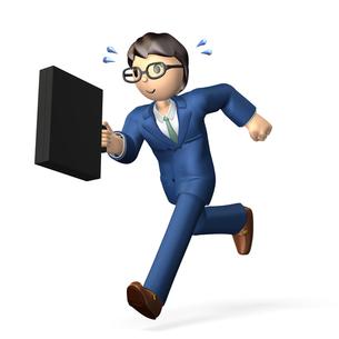 アクティブなビジネスマンの写真素材 [FYI00068990]