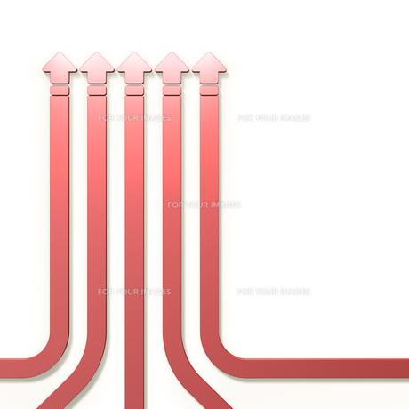 昇華を表すアブストラクト3DCGの素材 [FYI00069060]