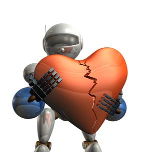 失意のロボットの写真素材 [FYI00069181]