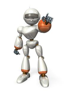 指差すロボットの写真素材 [FYI00069187]