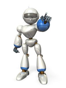 指差すロボットの写真素材 [FYI00069196]