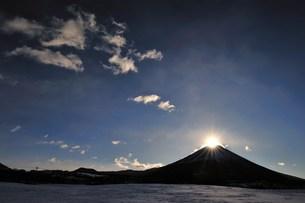 ダイヤモンド富士の写真素材 [FYI00069215]