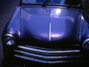 黒い車の写真素材 [FYI00069347]