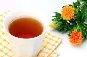 紅花茶の写真素材 [FYI00069953]