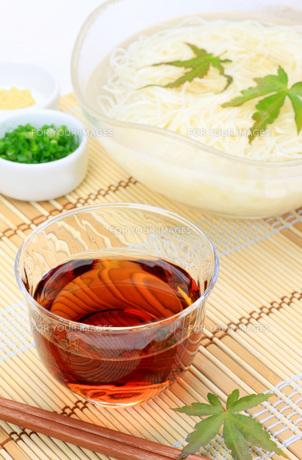 素麺の写真素材 [FYI00069957]