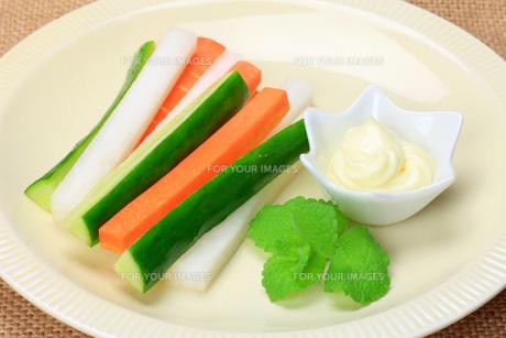 野菜スティックの写真素材 [FYI00070204]