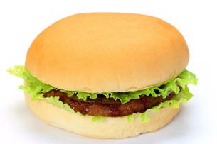 ハンバーガーの写真素材 [FYI00070332]