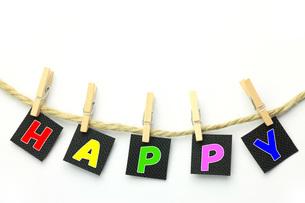 HAPPY  イメージの写真素材 [FYI00070603]