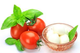 チーズとトマトの写真素材 [FYI00071238]