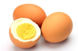 ゆで卵の写真素材 [FYI00071486]