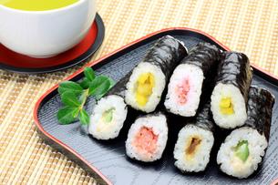 巻き寿司の写真素材 [FYI00071895]