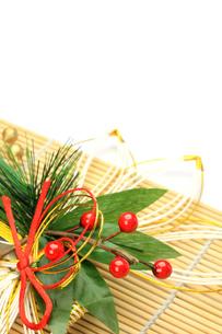 正月飾りの写真素材 [FYI00072600]
