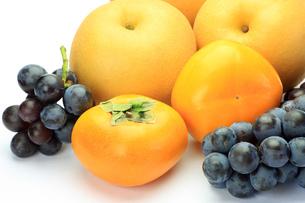 秋の果物の写真素材 [FYI00072611]