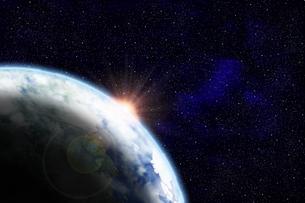 地球のイラストの写真素材 [FYI00073155]