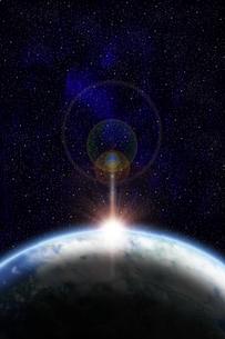地球のイラストの写真素材 [FYI00073156]