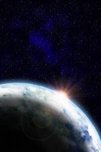 地球のイラストの写真素材 [FYI00073160]